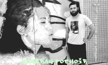 Project visual Mondrag pochoir