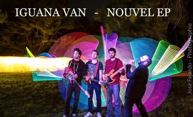 Project visual IGUANA VAN - NOUVEL EP