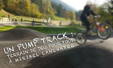 Project visual Un pump track : terrain de jeu pour tous