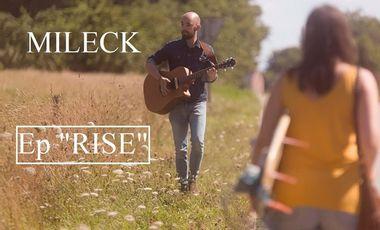 Visuel du projet MILECK - Enregistrement du 2ème EP