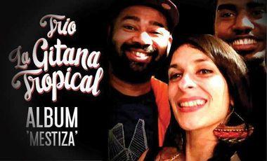 "Visueel van project Trio La Gitana Tropical -Album ""Mestiza"""