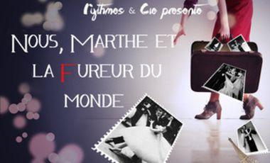 Project visual Nous, Marthe et la fureur du monde - Kbaret Guinguette