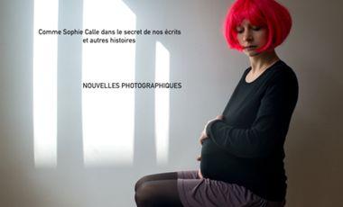 Visuel du projet Comme Sophie Calle, dans le secret de nos écrits et autres histoires