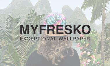 Visuel du projet MYFRESKO papier peint d'exception