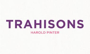 Project visual Trahisons de Pinter