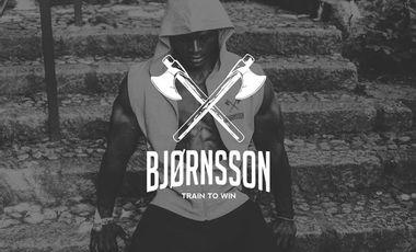 Visueel van project Bjørnsson | Train to win