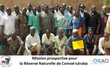 Visueel van project Mission Prospective pour la Réserve de Comoé-Léraba