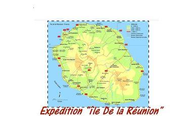 """Visueel van project Expédition """"Ile de la Réunion"""""""