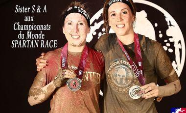 Project visual Sisters aux Championnats du Monde Spartan Race