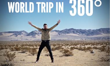 Visuel du projet World trip in 360°