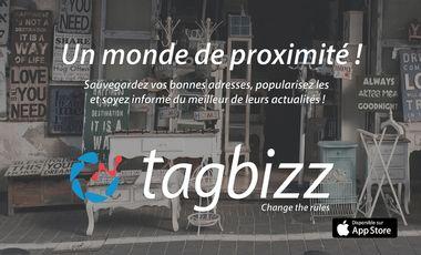 Project visual Tagbizz : soyez proche de vos commerces !