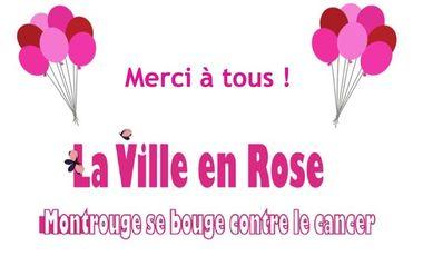 Visueel van project Aidez La Ville en Rose - Montrouge se bouge contre le cancer