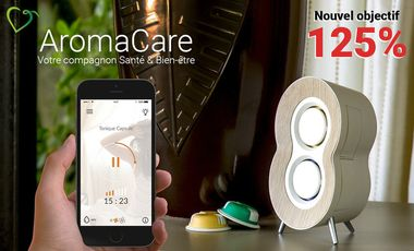 Visuel du projet AromaCare, votre compagnon Santé & Bien-être