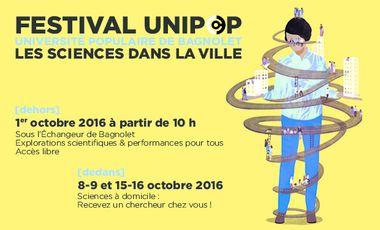 Visuel du projet Festival UniPop : Les Sciences dans la Ville