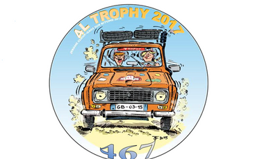 Project visual L'étoile déboussolée - 4L Trophy