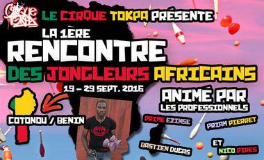 Visueel van project 1ère Rencontre des Jongleurs Africains