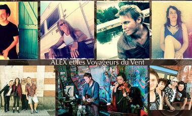 Project visual ALEX Et les Voyageurs du Vent/ ALBUM SOLIDAIRE