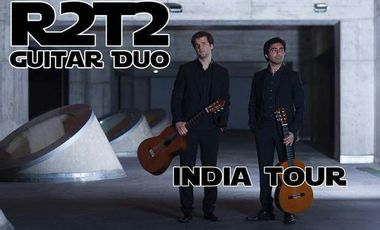 Project visual R2T2 guitar duo, india tour 2016