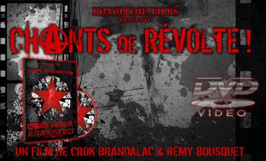 """Visuel du projet """"CHANTS de RÉVOLTE !"""" Précommandes du DVD"""