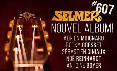 Project visual Selmer #607 - Jazz Manouche