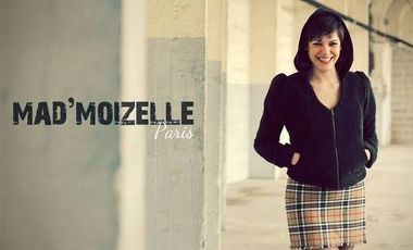 Project visual Tournage Mad'Moizelle Paris