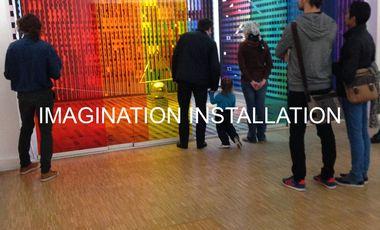 Visueel van project Imagination-Installation
