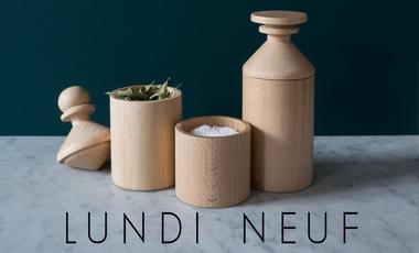 Project visual Lundi Neuf, simples objets du quotidien