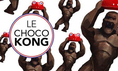 Visueel van project LE CHOCOKONG !