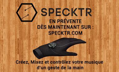 Visuel du projet Le gant connecté qui libère la musique ! (1st wireless musical glove controller)