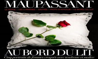 Project visual Maupassant-Au bord du lit