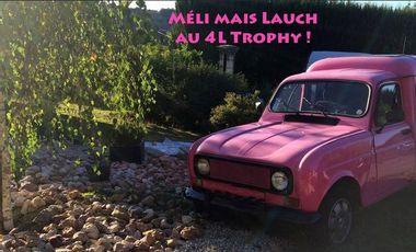 Project visual Méli mais Lauch au 4L Trophy !