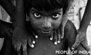 Visuel du projet People of India - Exposition