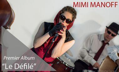 """Project visual Mimi Manoff """"Le Défilé"""", premier album"""