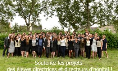 Visueel van project Soutenez les projets des élèves directeurs d'hôpital !