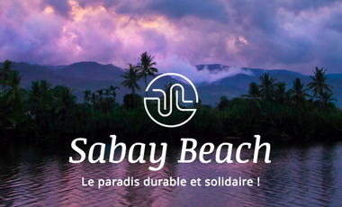 Project visual Sabay Beach, le paradis durable et solidaire !