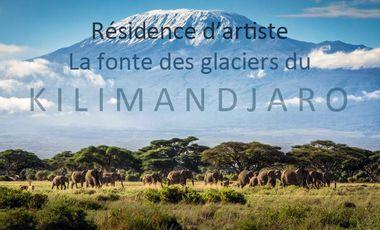 Project visual Résidence d'artiste sur la fonte des glaciers du Kilimandjaro