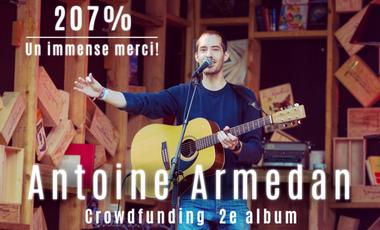 Project visual Antoine Armedan - 2e album