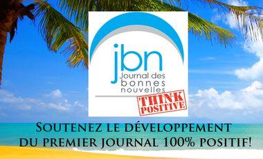 Visuel du projet LE JOURNAL DES BONNES NOUVELLES