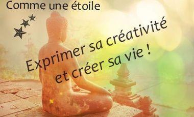 """Visuel du projet """"Comme une étoile"""", la créativité source de bien-être !"""