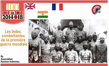 Project visual Les Indes, combattantes de la première guerre mondiale