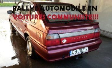 Visuel du projet Rallye automobile en voitures communiste!