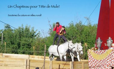 Visuel du projet Un chapiteau pour Tête de mule