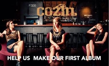 Visueel van project Help COZIN record their debut album!