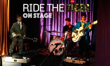 """Visuel du projet """"Ride the tiger"""" on stage"""