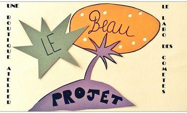 Visueel van project Une boutique-atelier pour le Labo des Comètes