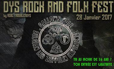 Visueel van project Dys Rock and Folk Fest
