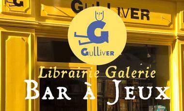Project visual Le bar à jeux Gulliver