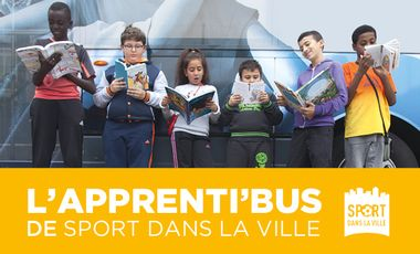 Visueel van project L'Apprenti'Bus de Sport dans la Ville