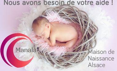 Visueel van project MANALA, Maison de Naissance en Alsace