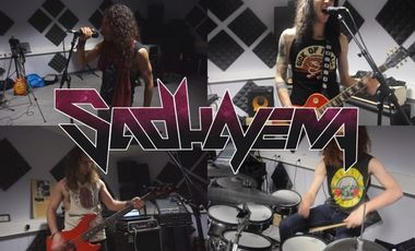 Project visual First Album Sadhayena - Hard Rock/Metal Band